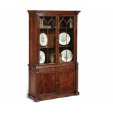 Buckingham George III Gothic Glazed China Cabinet by Jonathan Charles Fine Furniture