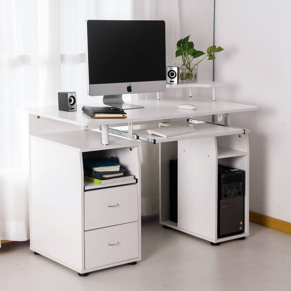 Merax Computer Desk U0026 Reviews | Wayfair