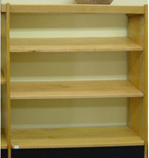Open Back Single Face Shelf Standard Bookcase