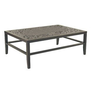 Calliope Classical Aluminum Coffee Table
