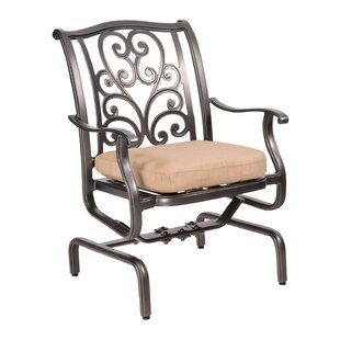 New Orleans Spring Rocker Patio Dining Chair by Woodard