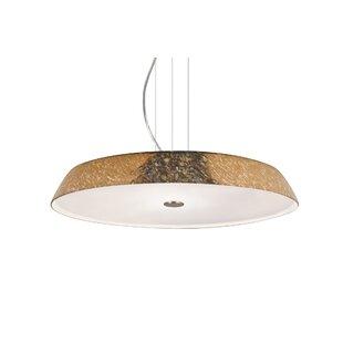 Brayden Studio Speier Round Suspension 1-Light LED Pendant