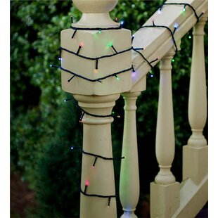 Plow & Hearth LED Multifunction Twinkle String Light with Auto Timer
