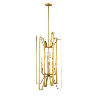 Z-Lite Fawcett 12-Light Geometric Chandelier