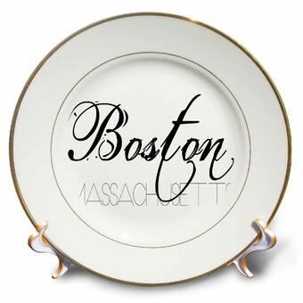 East Urban Home Keep Calm And Let Yiayia Handle It Fun Funny Grandma Yia Gift Porcelain Decorative Plate Wayfair