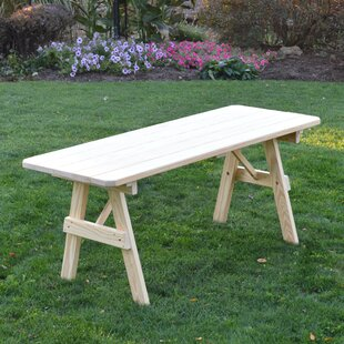 Scipio Wooden Picnic Bench by Loon Peak #1