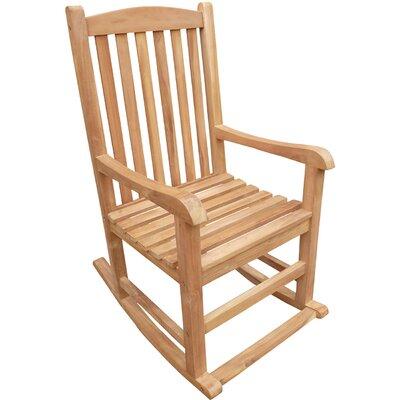 Cosentino Teak Rocking Chair
