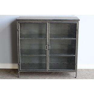 Lincolnwood Large Metal 2 Door Accent Cabinet by Gracie Oaks