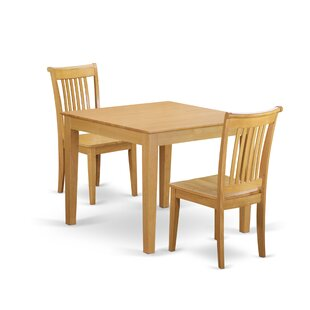 Alcott Hill Cobleskill 3 Piece Breakfast Nook Dining Set