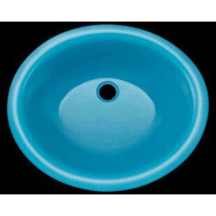 Quickview. +2. Polaris Sinks. Glass Circular Undermount Bathroom Sink