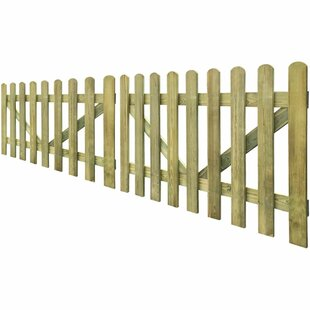 Emrich 5' X 3' (1.5m X 1m) Wood Gate (Set Of 2) By Sol 72 Outdoor