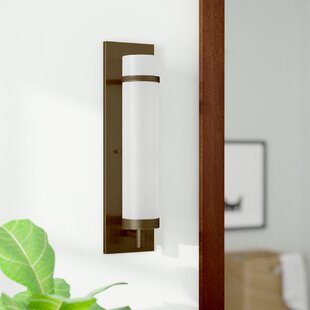 Find a Bucholz 1-Light Wall Sconce By Latitude Run