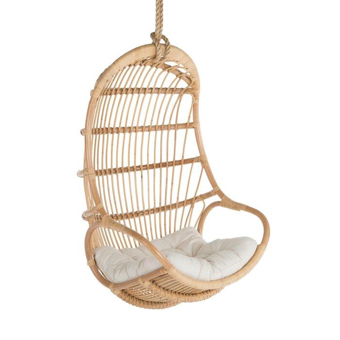 Incredible Briaroaks Hanging Rattan Swing Chair Machost Co Dining Chair Design Ideas Machostcouk