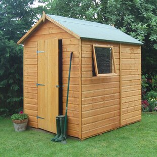 Nooksack 5 Ft. W X 7 Ft. D Shiplap Apex Wooden Shed By Sol 72 Outdoor