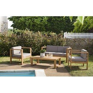 Taniya 4 Seater Sofa Set By Corrigan Studio