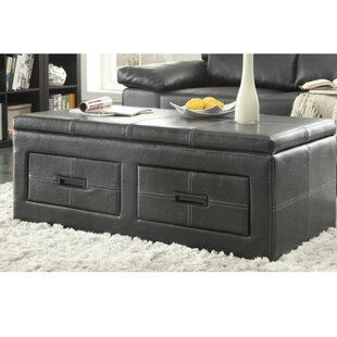 Heater Lift Top Storage Ottoman
