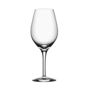 More Crystal Stemmed Wine Glass (Set of 4)