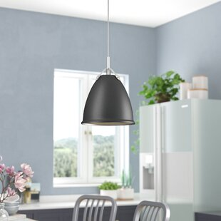 Ebern Designs Cherrelle 1-Light Cone Pendant
