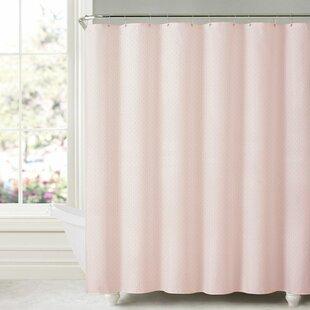 Aarush Honeycomb Embossed Single Shower Curtain