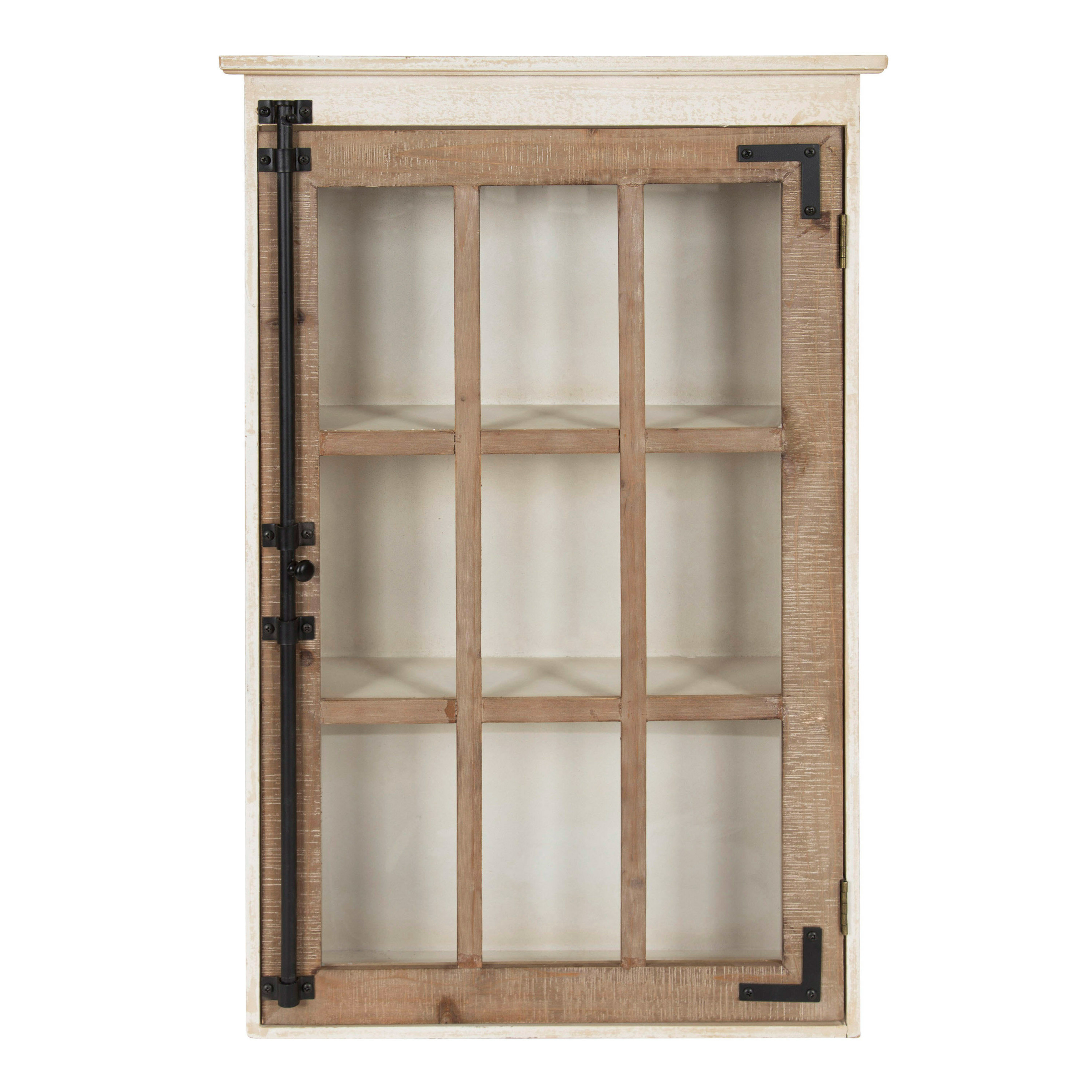 Zofia Farmhouse Cabinet Wall Shelf