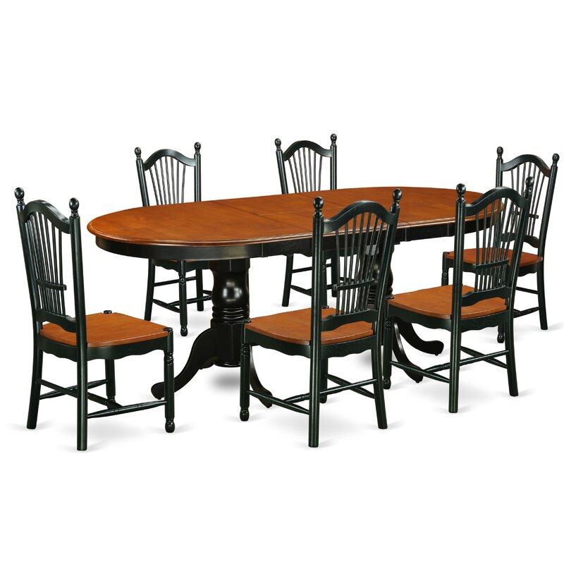 Pilcher Contemporary 7 Piece Dining Set