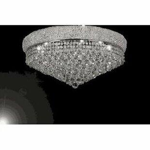 Rosdorf Park Sawyer 14-Lights LED Flush Mount