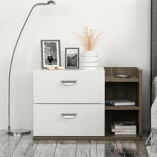 Fite 2 Drawer Bedside Table By Ebern Designs