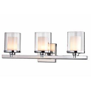 Glass 3-Light Vanity Light