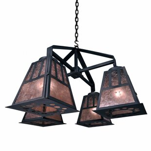 Steel Partners Monterey 4-Light Shaded Chandelier
