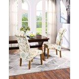 Lloshi Tufted Velvet Upholstered Parsons chair (Set of 4) by Red Barrel Studio®