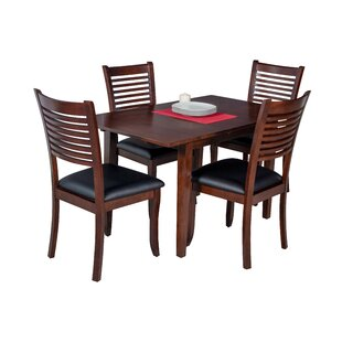 Assante Modern 5 Piece Solid Wood Dining ..
