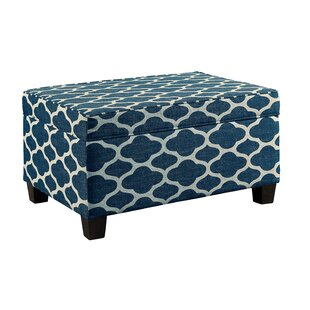 Compare prices Book Lift-Top Storage Ottoman By Charlton Home