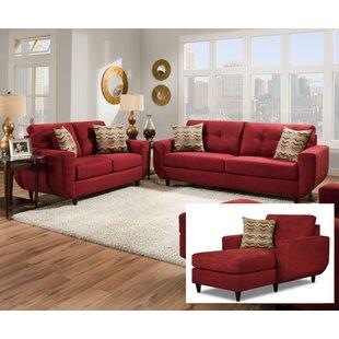 Compare Gudino Configurable Living Room Set by Brayden Studio Reviews (2019) & Buyer's Guide
