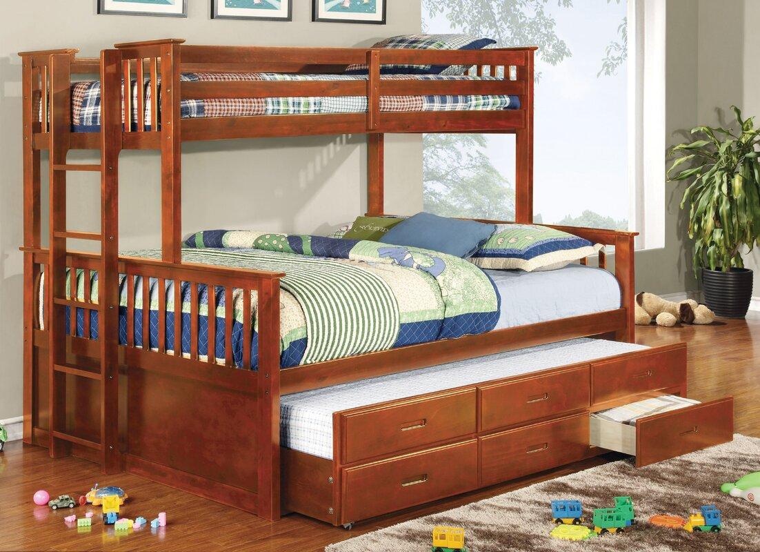 Sandra Twin Over Queen Bunk Bed. Twin Over Queen Bunk Bed   Wayfair