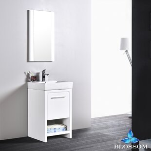 Artemis Modern 20 Single Bathroom Vanity Set with Mirror by Ivy Bronx