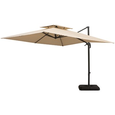 Aziz 9.8 Cantilever Umbrella by Freeport Park Best Design