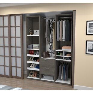 Wilbur Deluxe Reach 58.5 W Closet System
