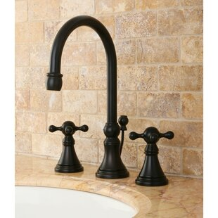 Bargain Governor Widespread Bathroom Faucet with Brass Pop-Up Drain ByKingston Brass