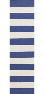 Shop For Collins Blue Corn/White Area Rug ByBreakwater Bay