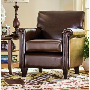 Horsham Upholstered Club Chair by Three Posts