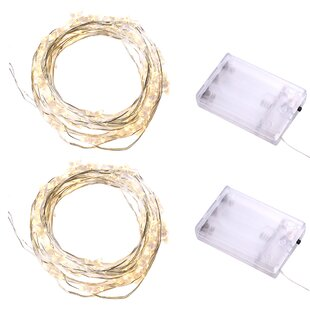 The Holiday Aisle Kain 9.5 ft. 30-Light Novelty String Lights (Set of 2)
