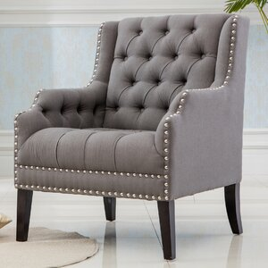 Denim Wing back Chair