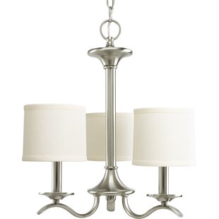 Greenwell 3-Light Shaded Chandelier by Three Posts