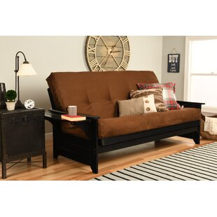 Wood Arm Futon Wayfair