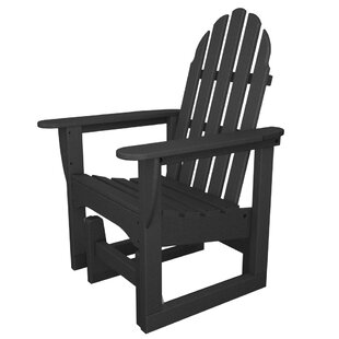 Classic Adirondack Glider Chair by POLYWOOD®