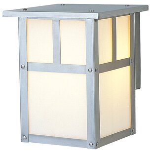 Low priced Oakhill 1-Light Outdoor Flush Mount By Charlton Home