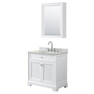 Tamara 31 Single Bathroom Vanity Set with Mirror by Wyndham Collection