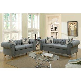 Garett 2 Piece Living Room Set by Ophelia & Co.