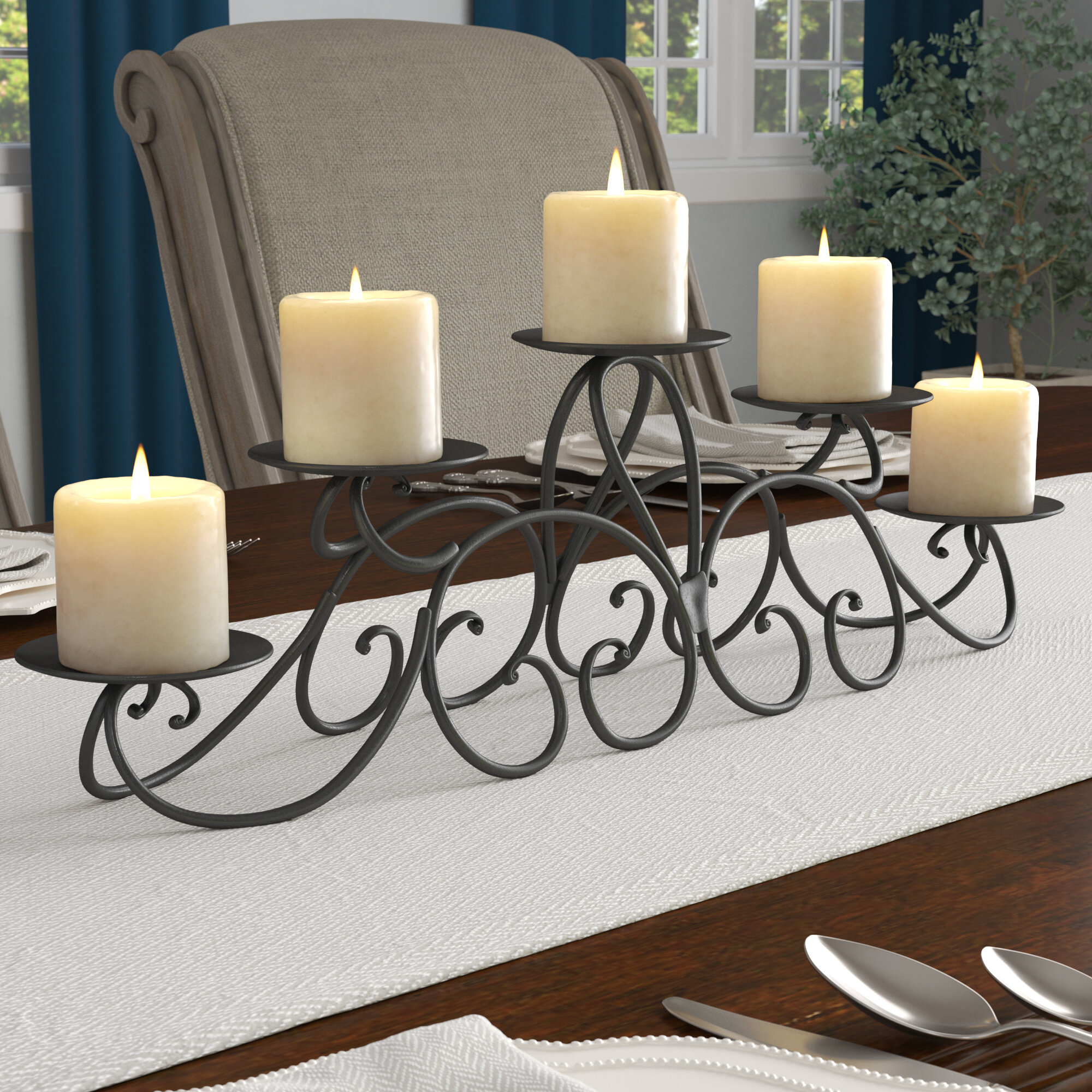 Stupendous Candelabra Fireplace Candle Holders Youll Love In 2019 Interior Design Ideas Gentotryabchikinfo