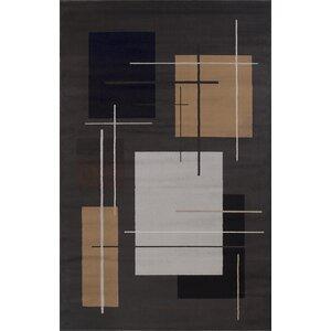 Matheus Black/Beige Area Rug